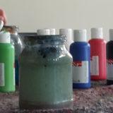 Farbflaschen