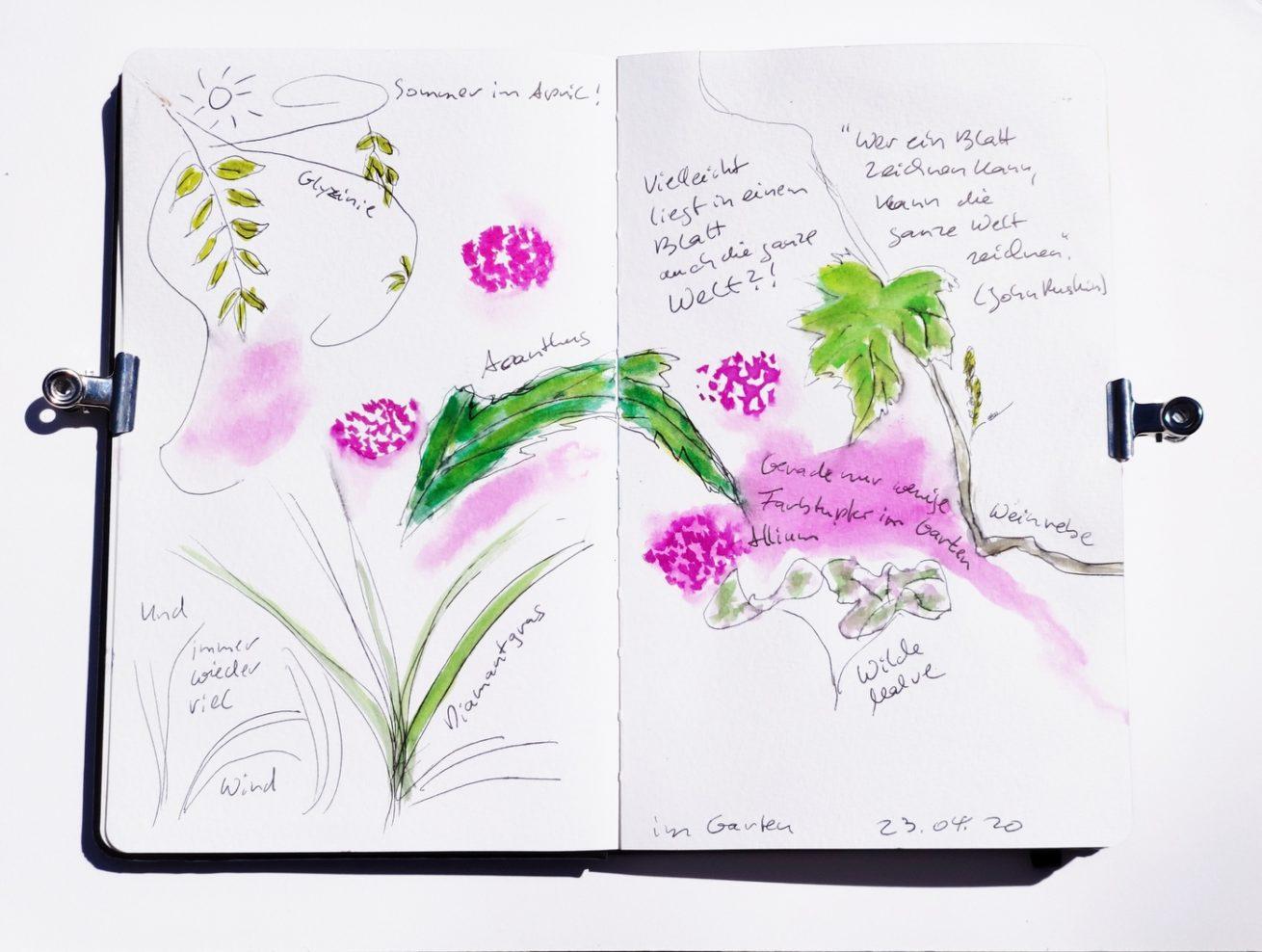 Nature_Journal_Garten_Blätter