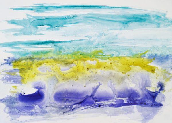 seaweed-tuschmalerei